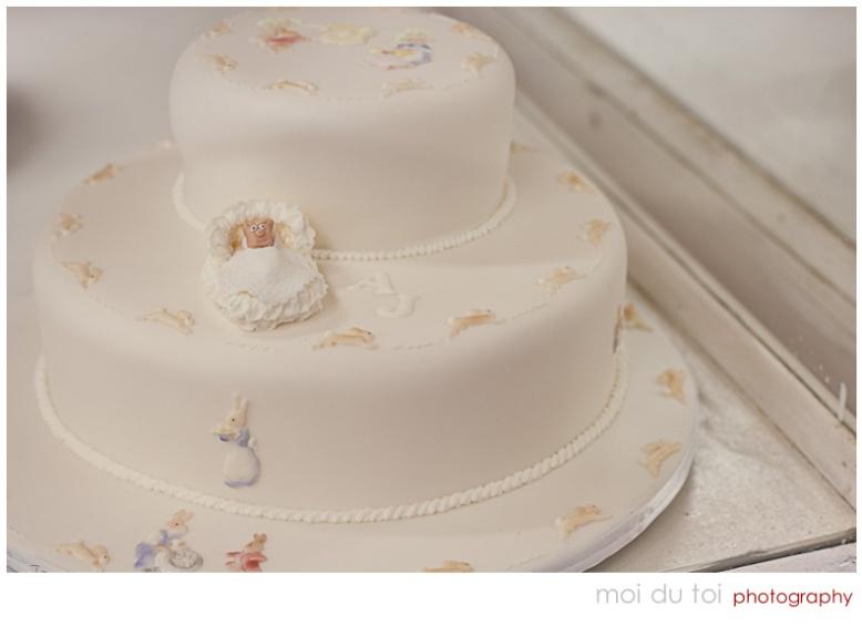 Bunnykins Christening Cake