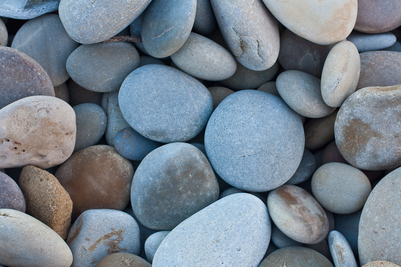 Stones on the beach