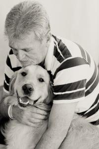 Golden retriever service dog pet photography south africa