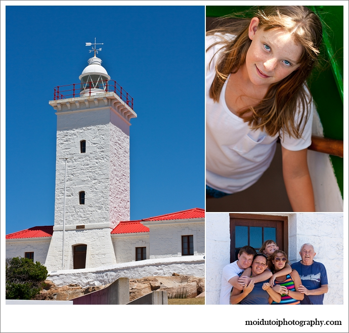 Mossel bay lighthouse, natural light photograpahy