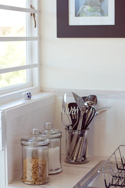 Cottage kitchen, utensils
