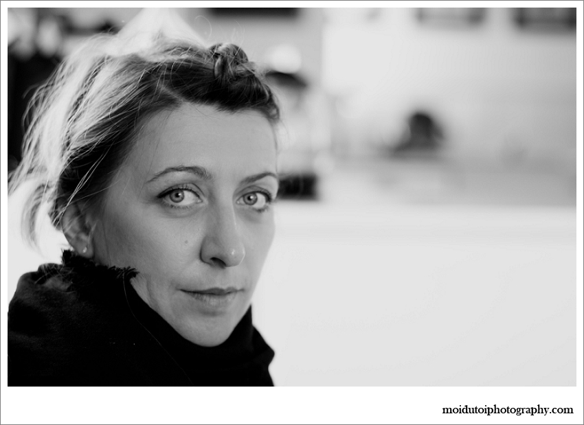 Natural light portrait, portrait of young Polish woman