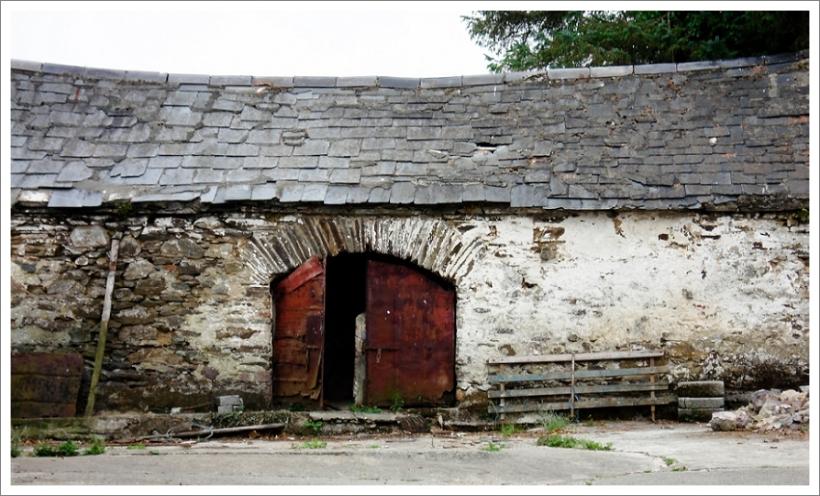 Barn at Ballyhest, Grandparents farm, Carrick-on-suir