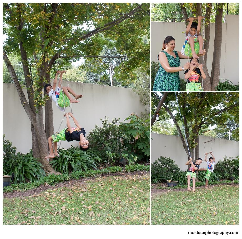 Natural light lifestyle portrait children, twin boys, moi du toi photography