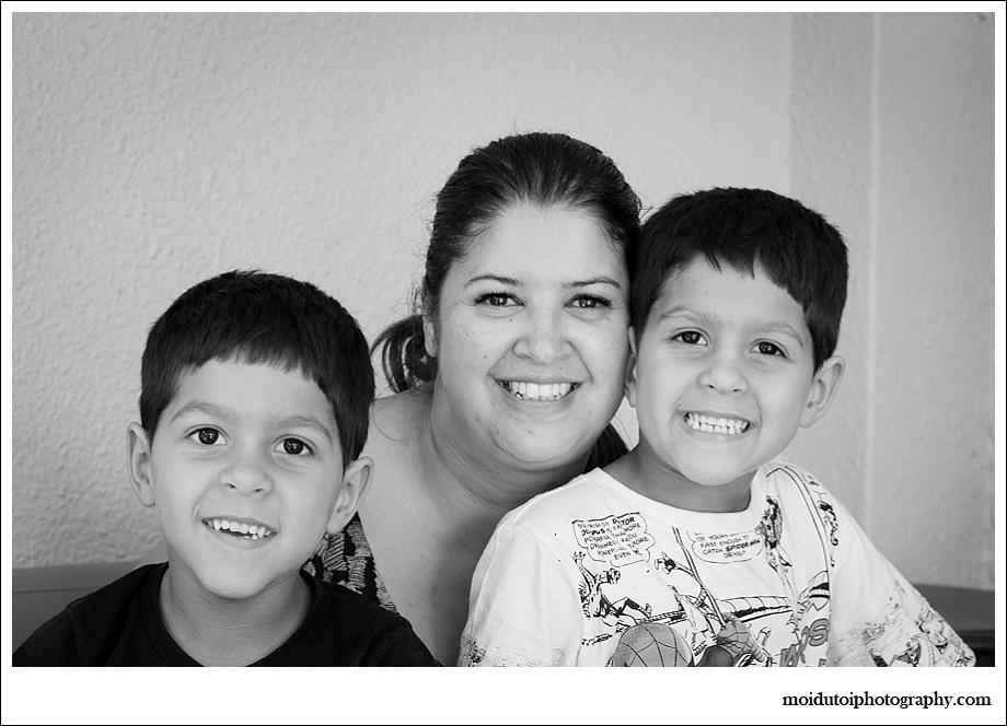 Natural Light portrait family