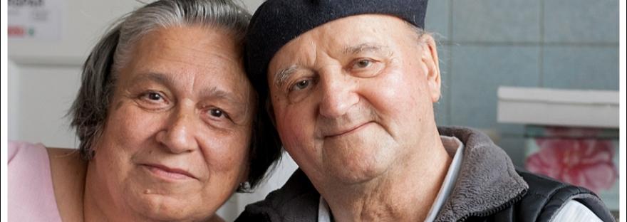 Natural light portrait, older couple, moi du toi photography