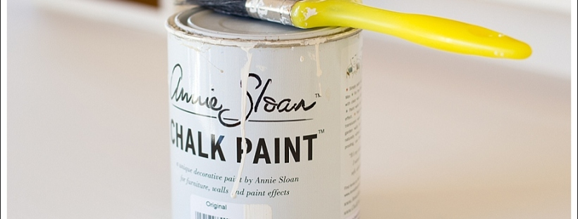 annie sloan chalk paint, desk remodel