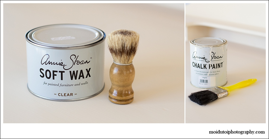 Annie Sloan Chalk paint and soft wax