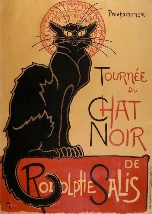 Tournee de chat noir