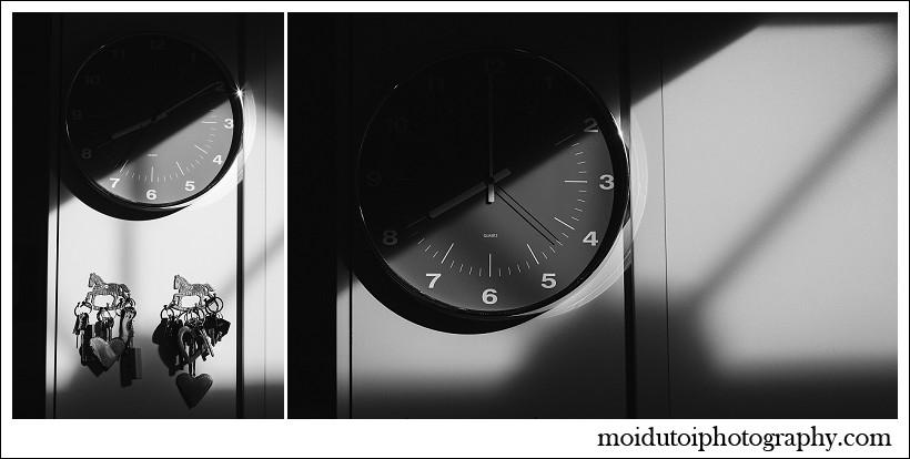 chiaroscuro, portrait, clock
