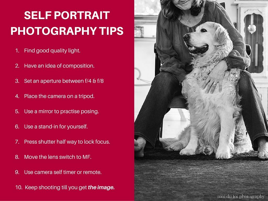 Self portrait tips