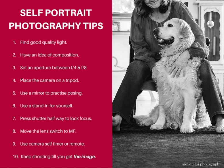 Self portrait tips