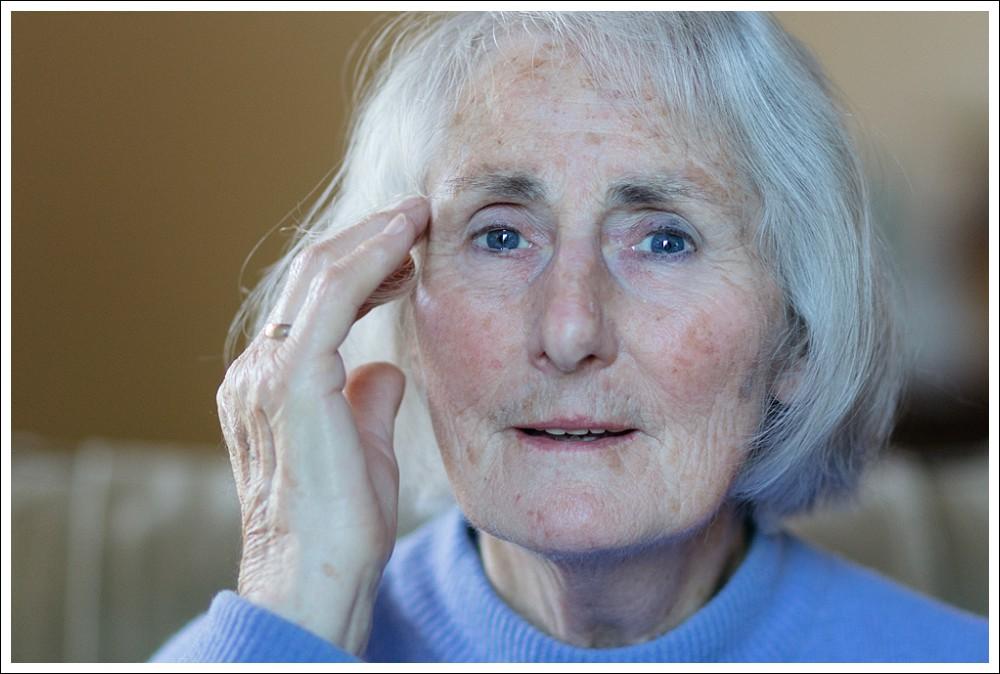 portrait of mature woman
