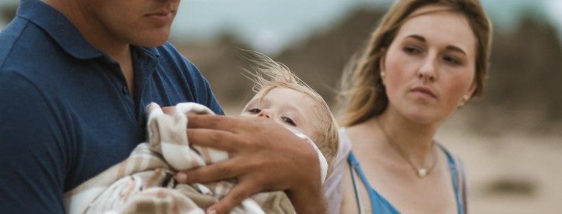 overcast family beach shoot with sedgefield photographer moira du toit