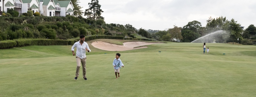 Family photoshoot at Fancourt George