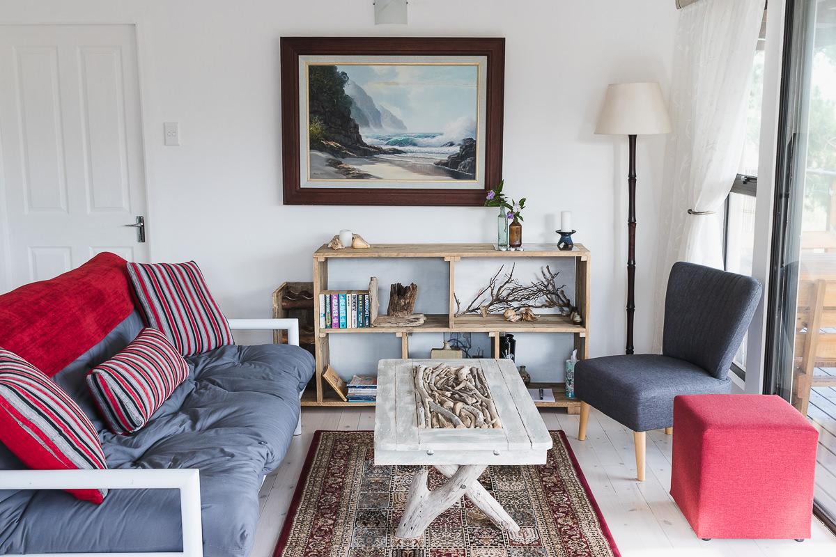 Lounge real estate bnb photo shoot at Equleni sedgefield garden route photographer moi du to