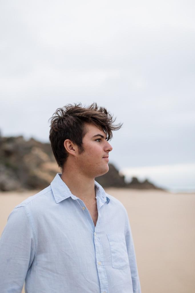 young man family beach photo shoot brenton on sea knysna