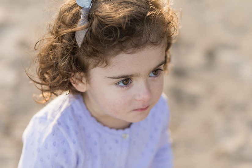 little girl sunset family photo session at Myoli Beach Sedgefield photographer moi du toi