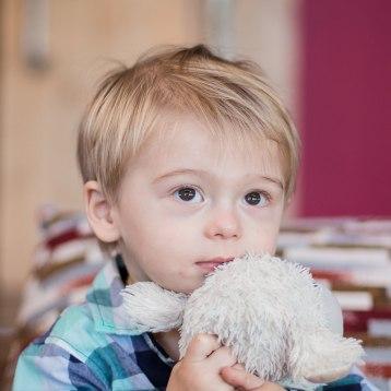 Toddler holding soft toy family photoshoot Cloud 9 Estate Knysna