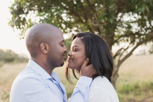 romantic image of couple about to kiss